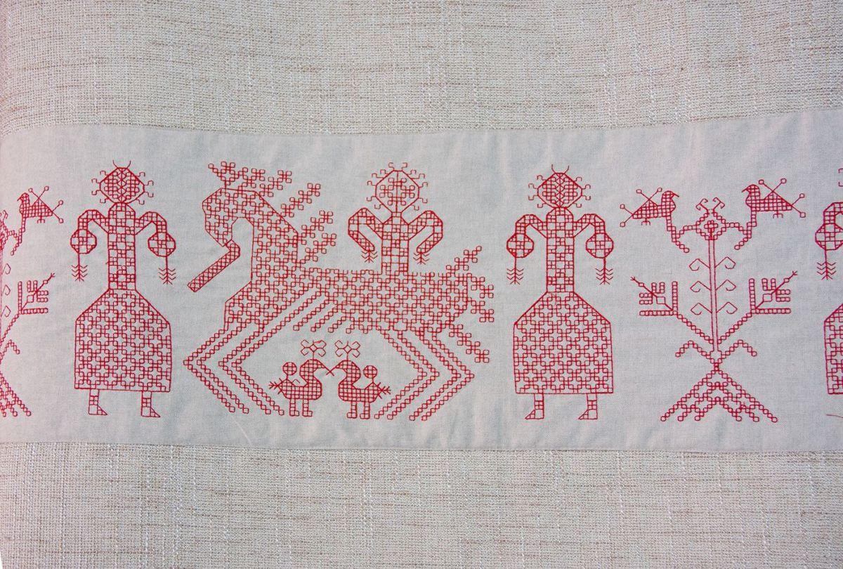 Карельская вышивка. Основные приёмы, техника, швы