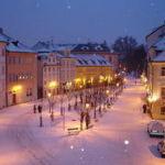 Отдых с детьми зимой в Европе