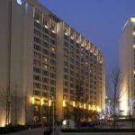 Отель в Пекине ночью