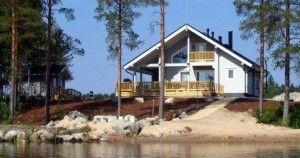 фото аренды коттеджей в финляндии