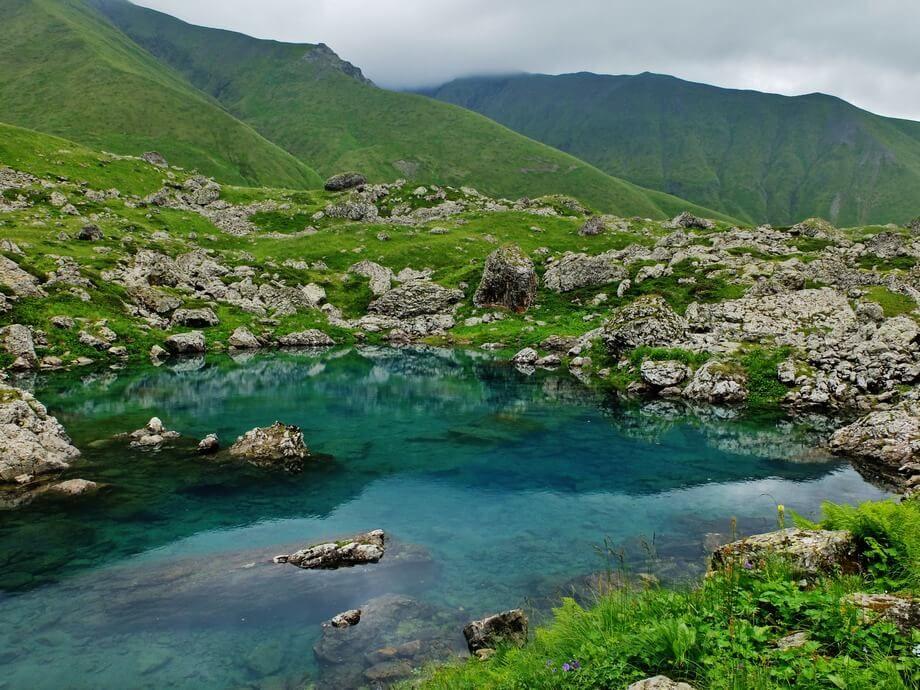 фото озер Грузии