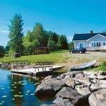 фото коттеджей в финляндии