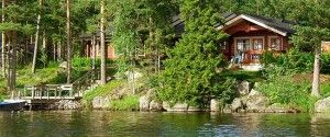 аренда домов на берегу озера в финляндии фото