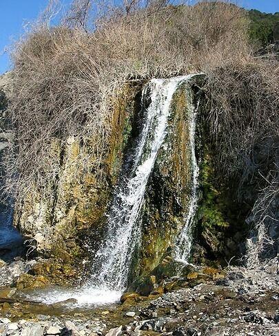 водопад в анапе на карте ткань задействует