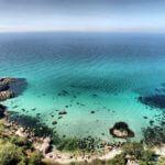 фото голубой бухты в Геленджике