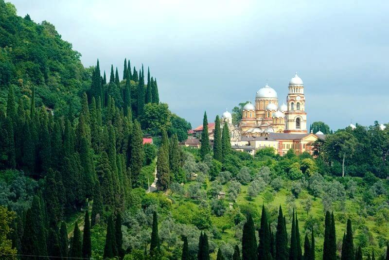 фото монастыря Новый Афон