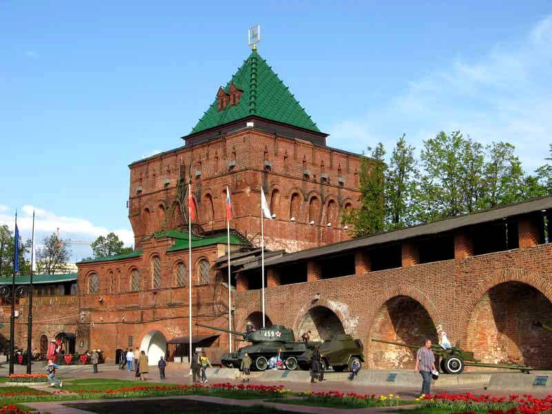 фото Кремля в Нижнем Новгороде