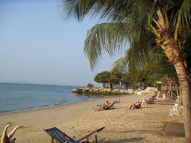 фото пляж в Паттайе