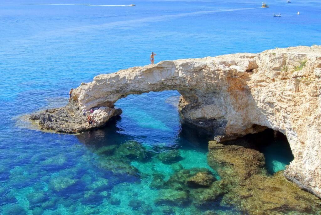 фото пляж в Кипре