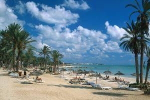 пляж на Джерба