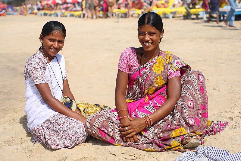 фото индусы в Гоа