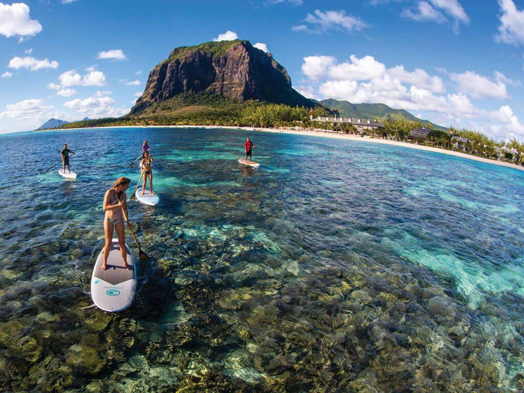 чистая вода Маврикия