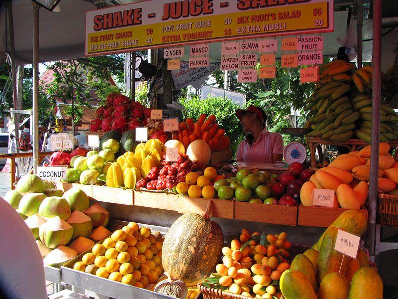 фото цены на питание в Паттайе