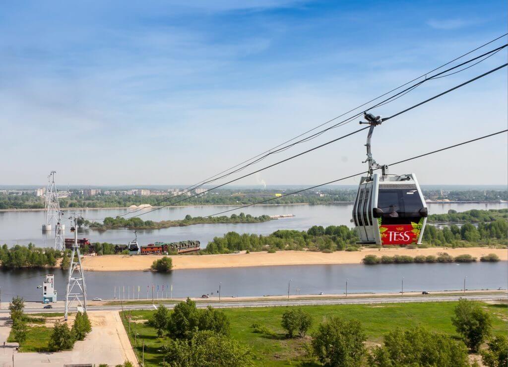 фуникулер в Нижнем Новгороде