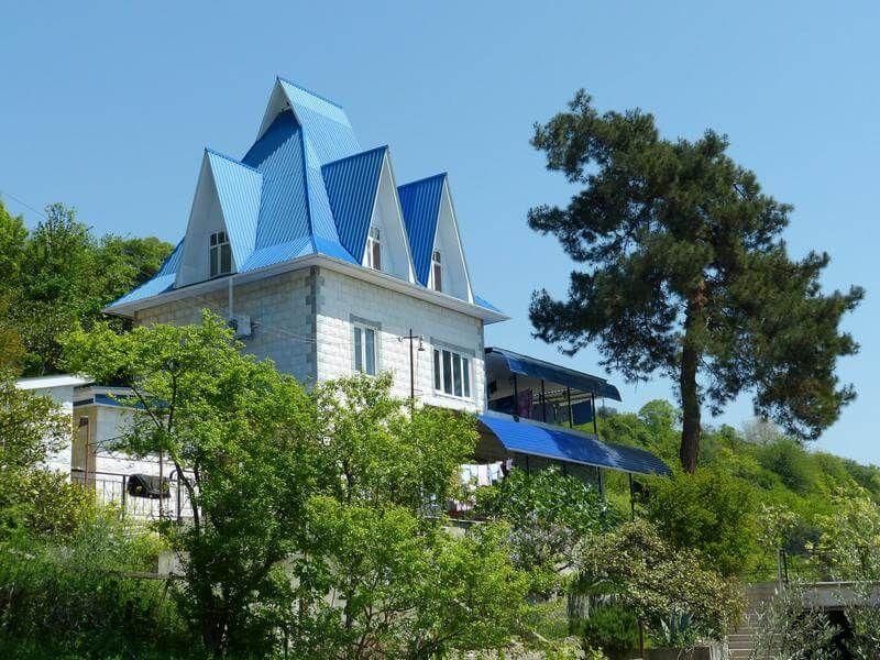 фото дом в частном секторе в Абхазии