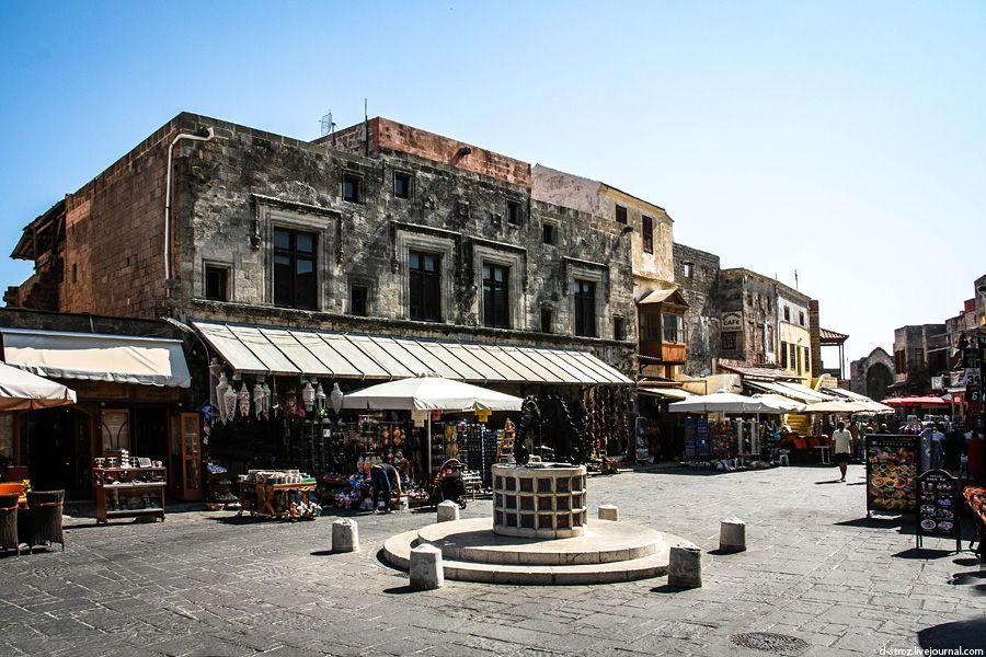 Фото торговые ряды в старом городе