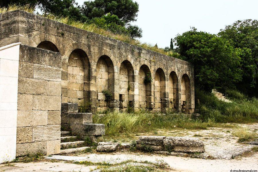 фото акрополь города Родос