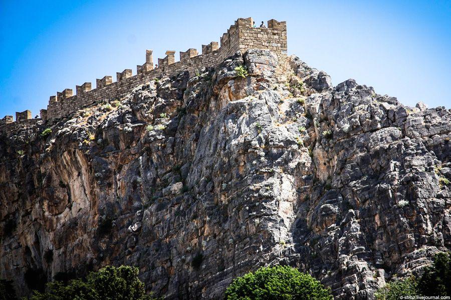 Фото крепость вокруг акрополя