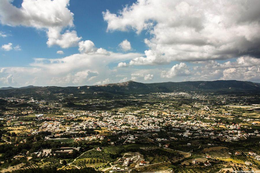 фото просторы с горы филеримос