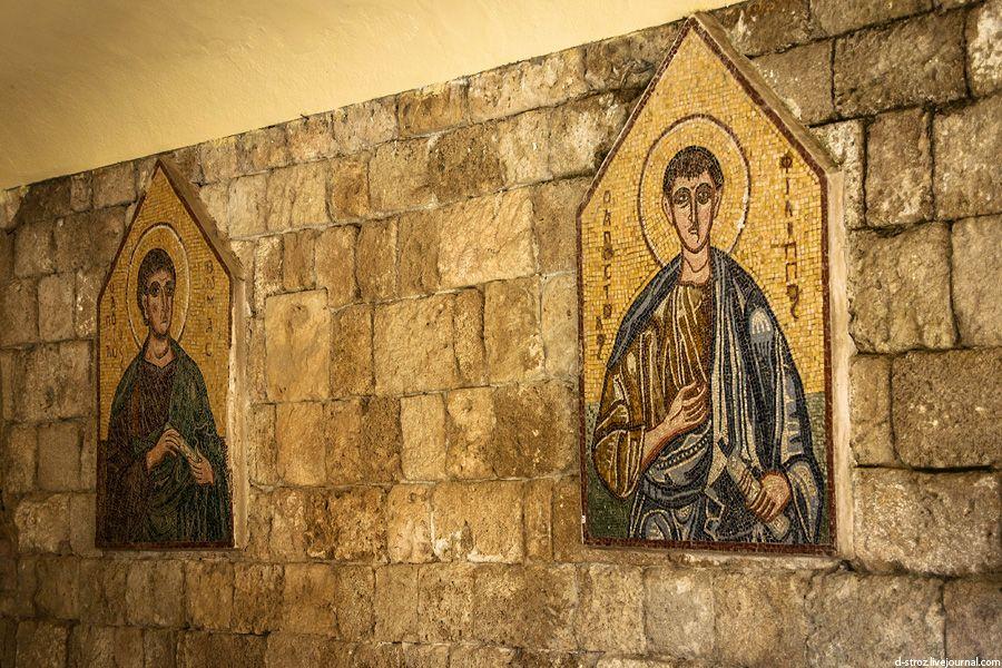фото мозаичные иконы монастыря Богородицы