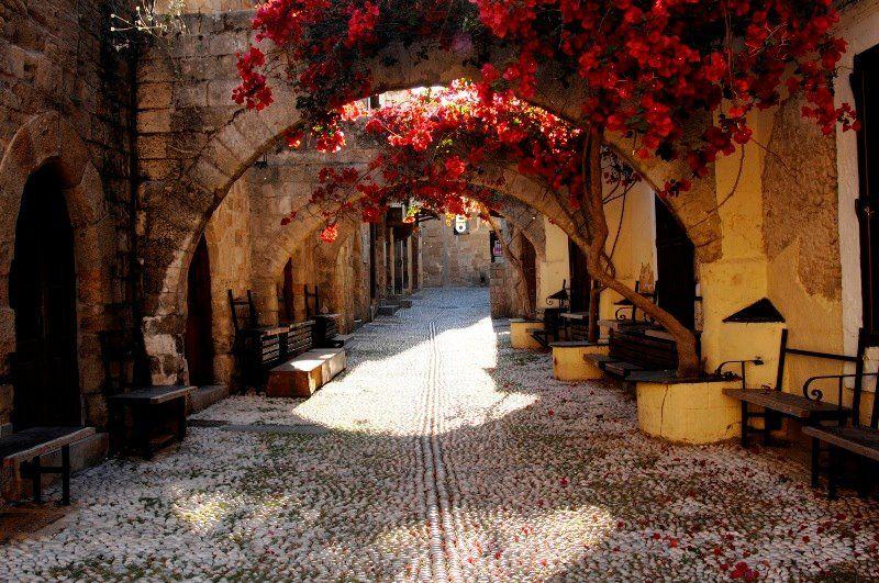 Фото улочки старого города