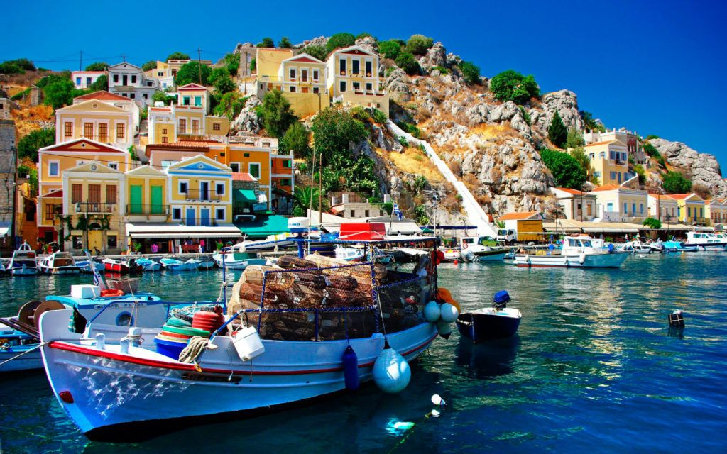 Фото Греция остров Родос