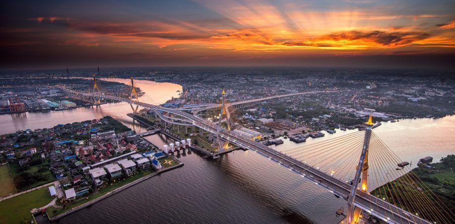 Время перелета из Москвы до Тайланда