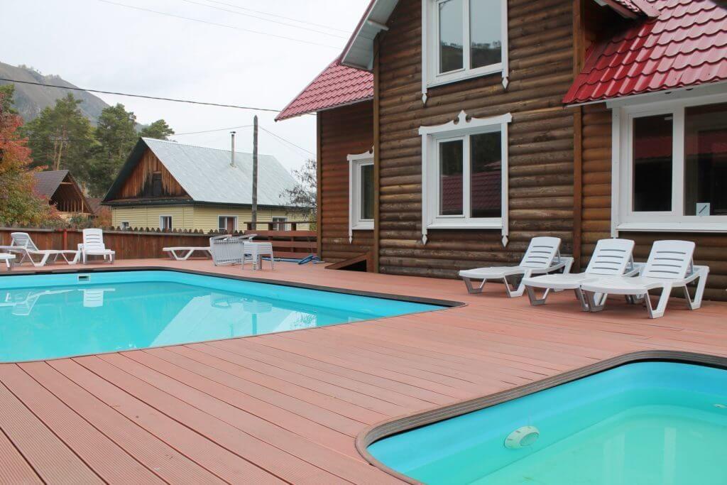 фото холодный бассейн