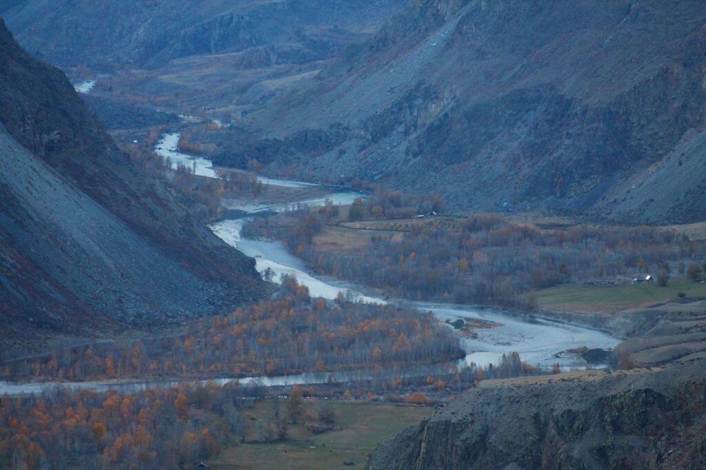 Чулышман, долина реки