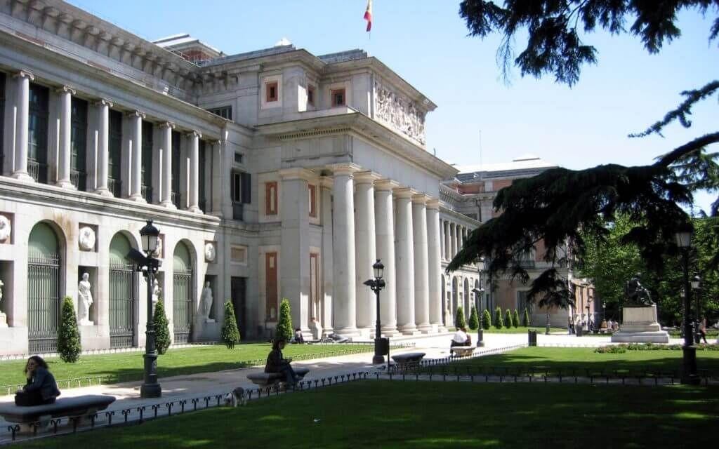 фото музея Прадо в Мадриде