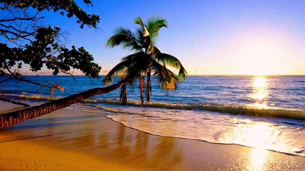 Пляж Багамских островов