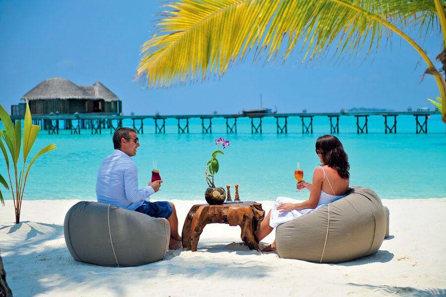 фото романтика на Мальдвах