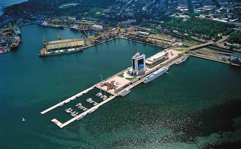 фото порта Одессы