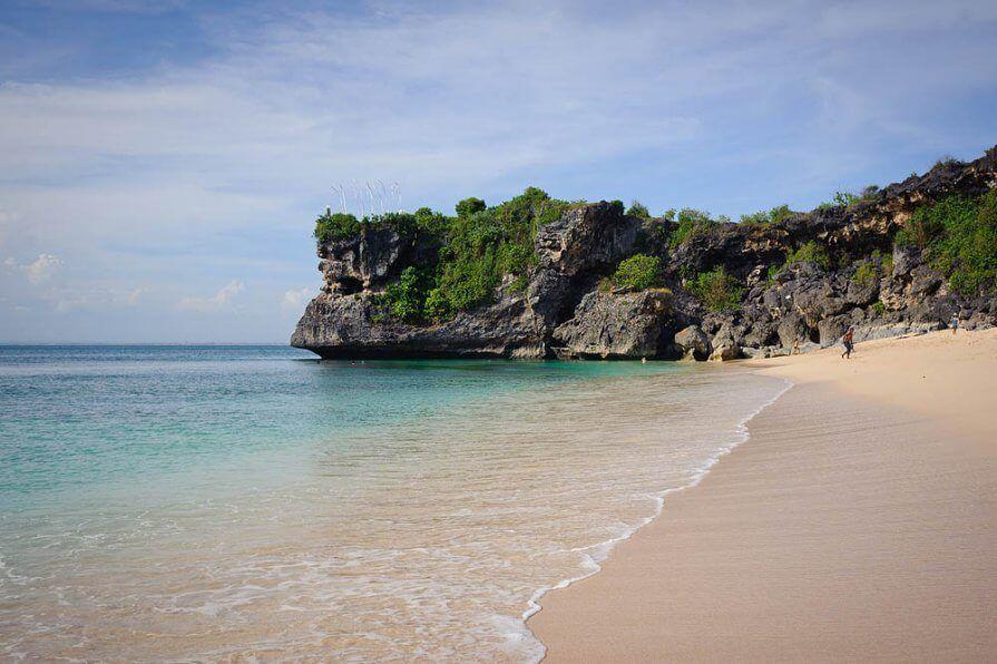 фото пляжа Баланган на Бали