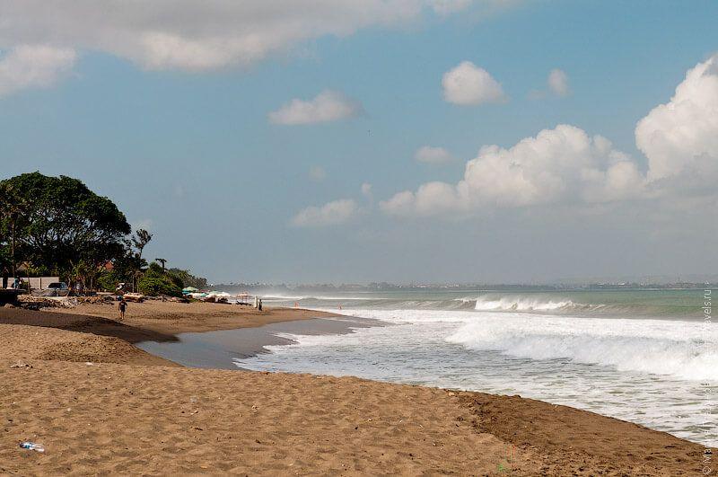 фото пляжа Чангу на Бали