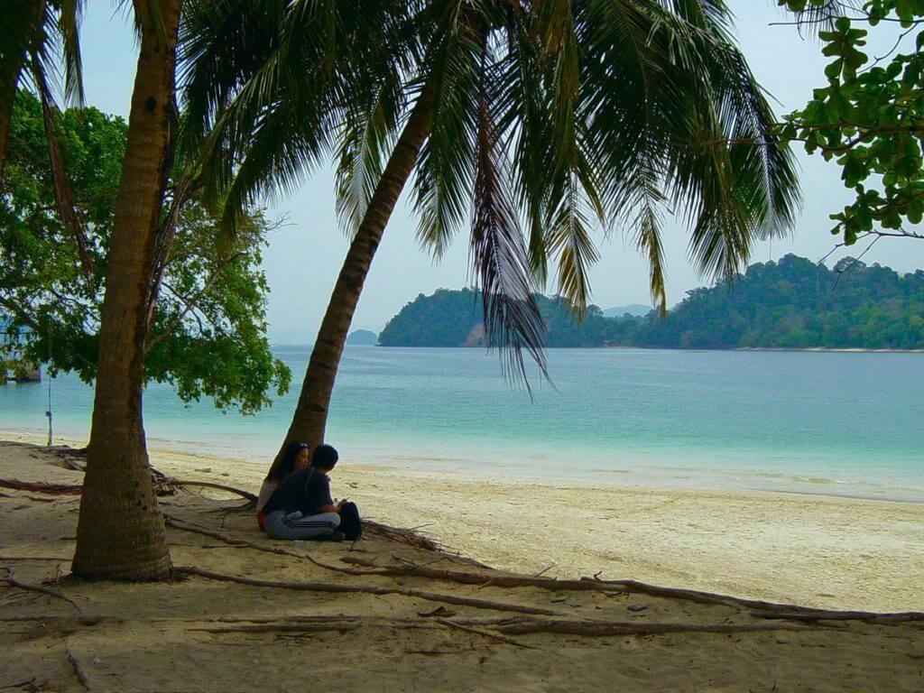 море пальмы Малайзии