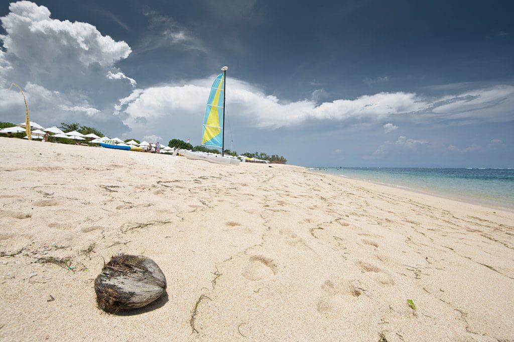 фото популярного пляжа на Бали