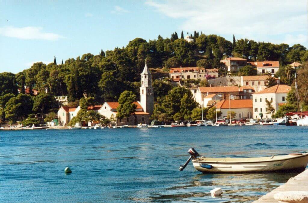 фото берег в Хорватии