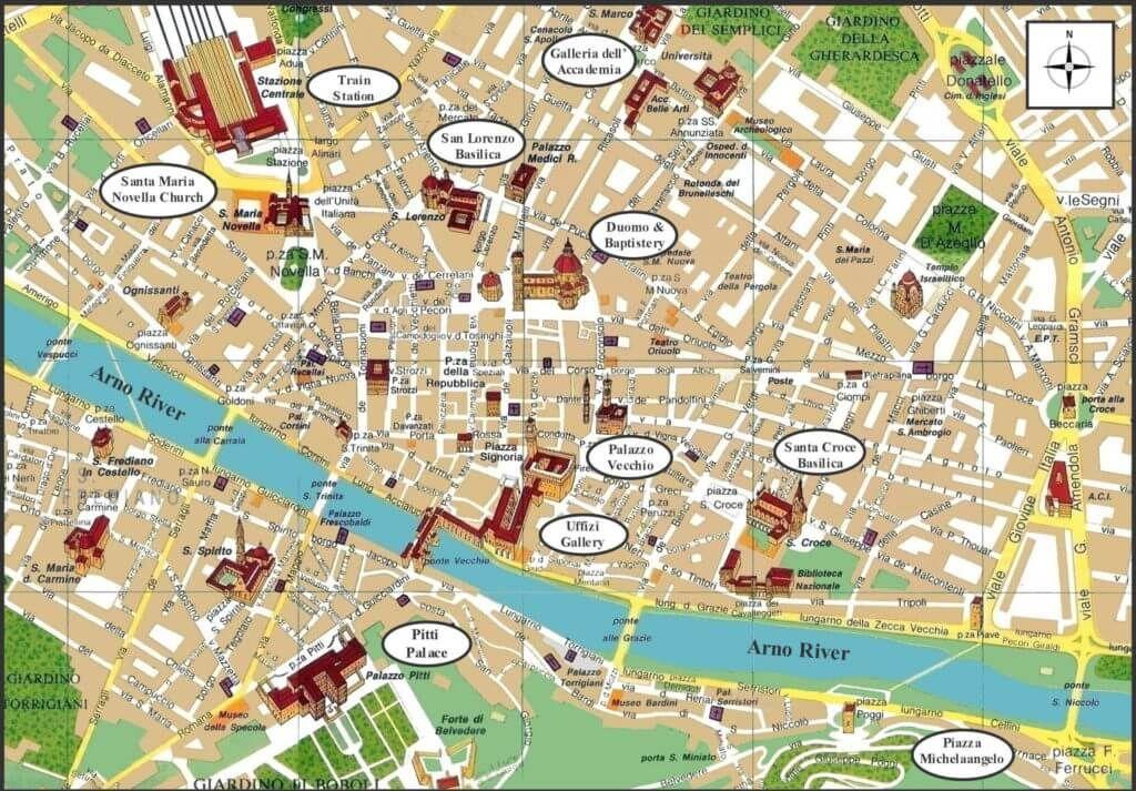 Фото карта Будапешта