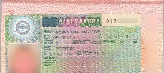 фото виза