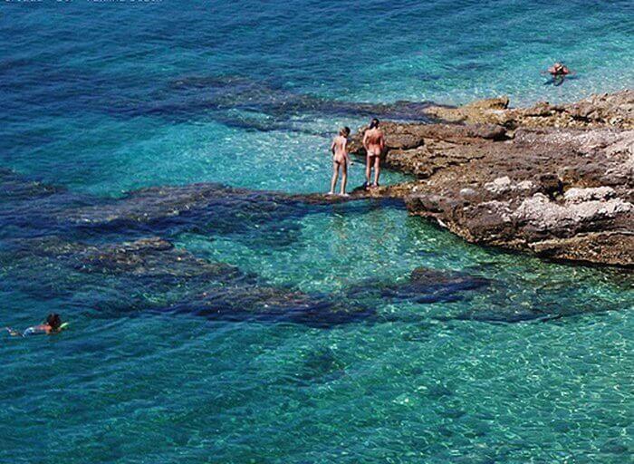 Фото зарубежных пляжей для нудистов