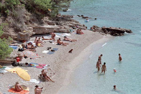 Фото нудистский пляж
