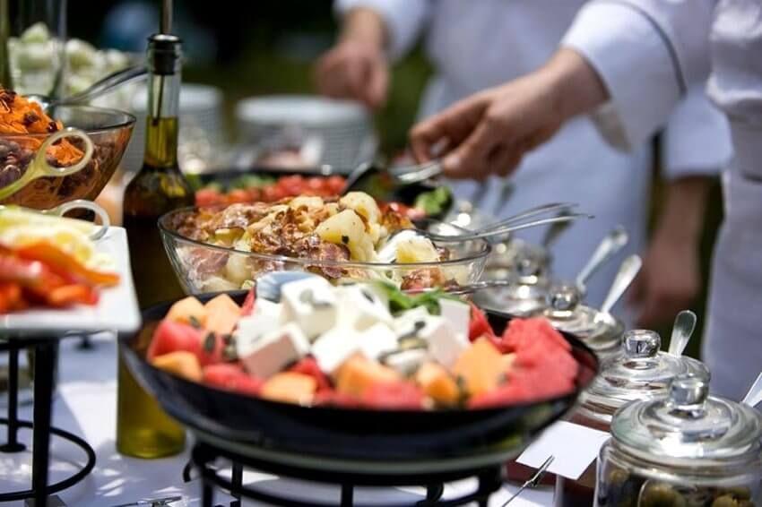 Еда на Санторини