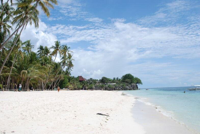 Алона-Бич на Филиппинах
