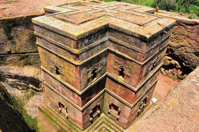 Храмы Лалибелы в Эфиопии
