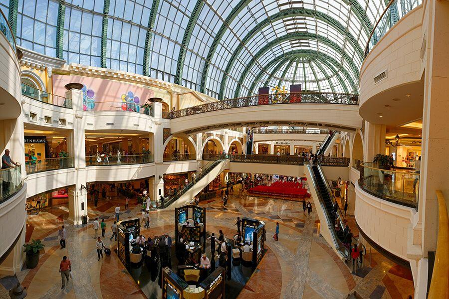 торговый центр Молл Эмиратов в Дубае