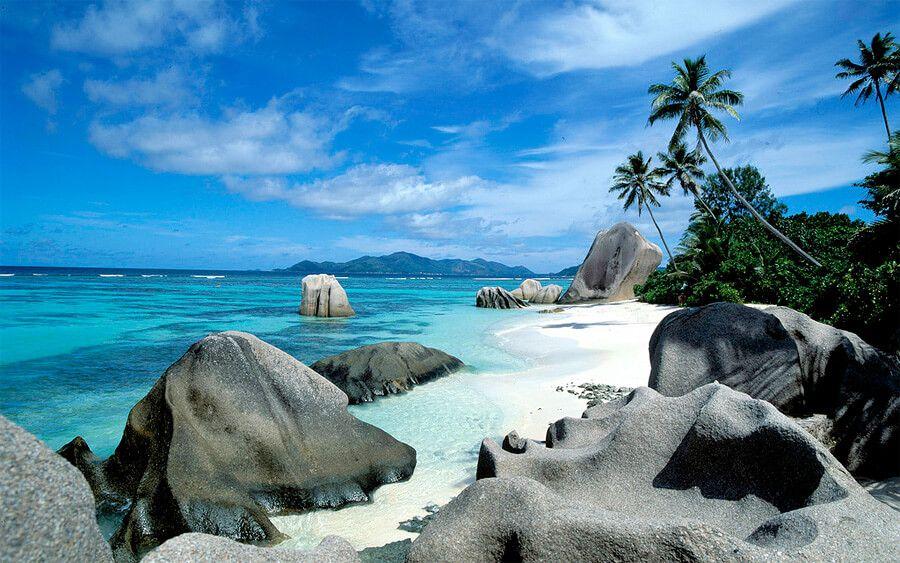 фото острова Ла Диг