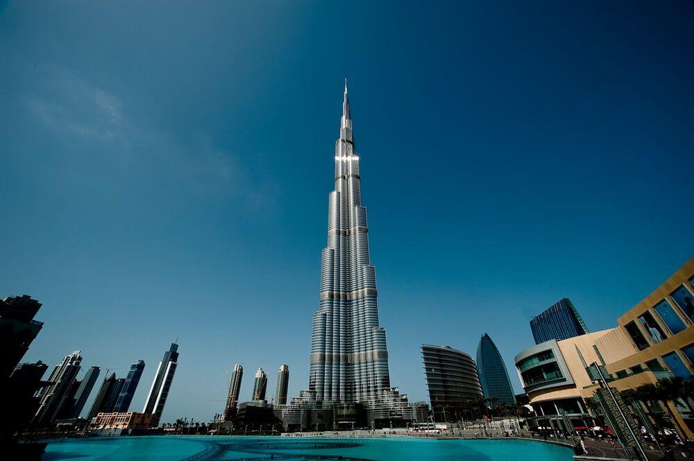 фото небоскреба Бурдж-Халифа