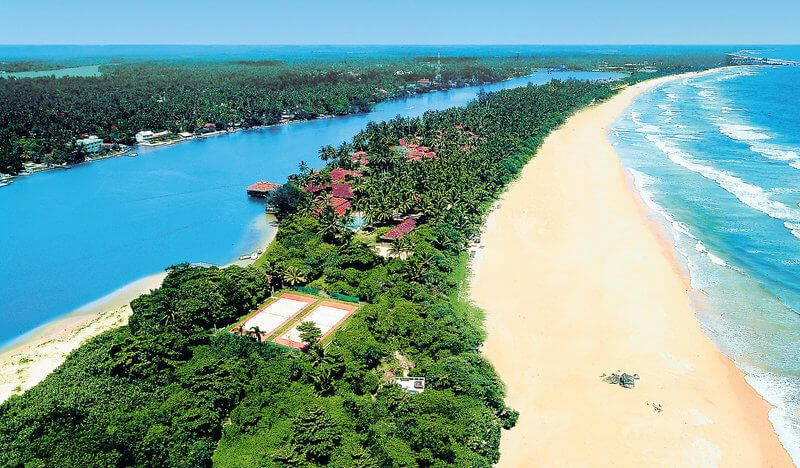 Курорт Бентота на Шри-Ланке