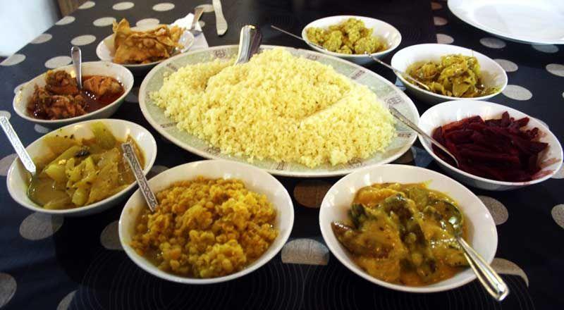 фото еда на Шри-Ланке